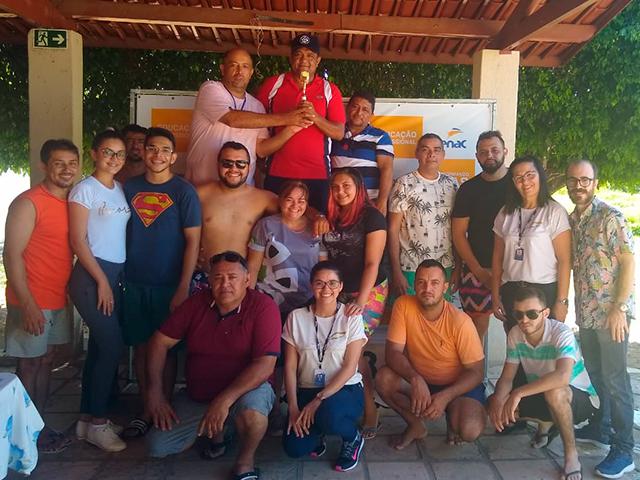 Em Acopiara, Sisar realiza um dia atividades extracurriculares para colaboradores