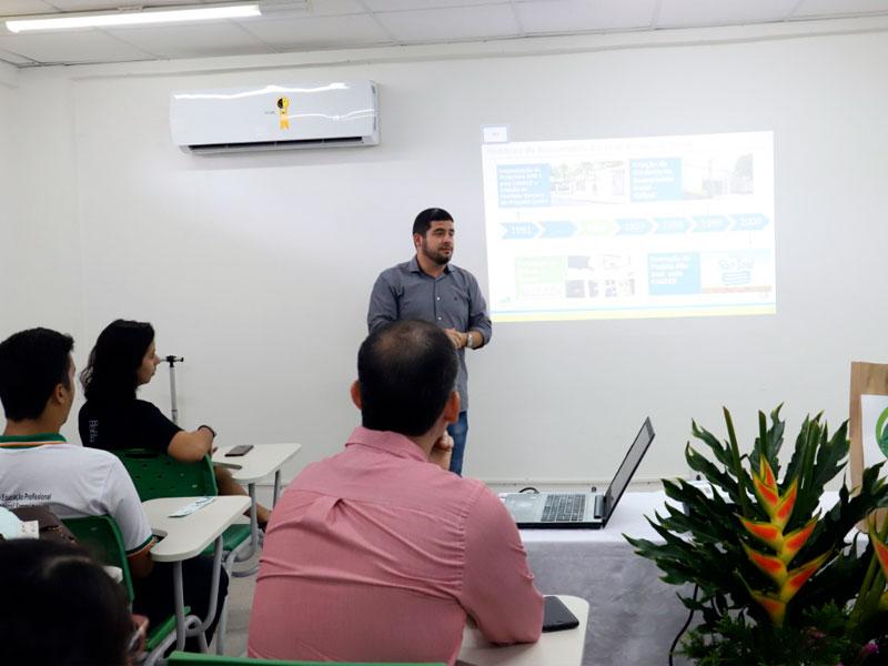 Sisar é apresentado na II Semana do Meio Ambiente do IFCE de Parcuru