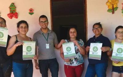 Sisar de Crateús realiza curso Reciclando com Arte