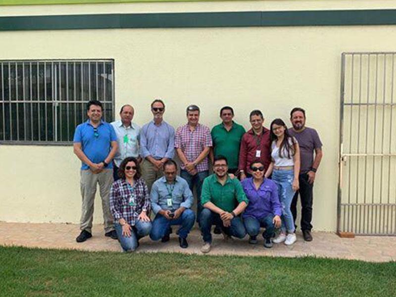 Sisar de Sobral e Cagece recebem visita de representantes do Banco Cooperação Andina – CAF